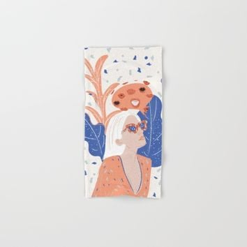 Thinkin About Kissin You Hand & Bath Towel by chotnelle