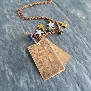 Tarot Card Double Sided Pendant - Major Arcana