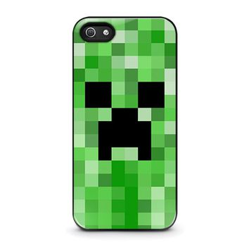 CREEPER MINECRAFT 2 iPhone 5 / 5S / SE Case Cover