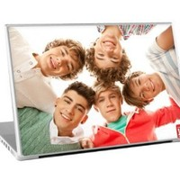 Zing Revolution One Direction Premium Vinyl Adhesive Skin for 15-Inch Laptops, Group Shot, MS-1D80011
