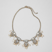 Multi-Jeweled Statement Necklace