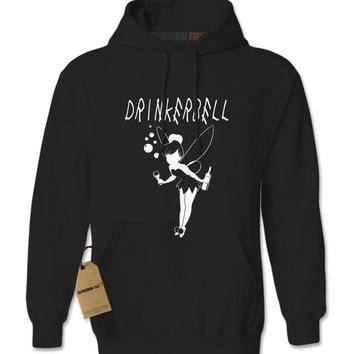 Drinkerbell Funny Drunk Fairy Adult Hoodie Sweatshirt