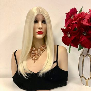 """Blond Lace Wig 