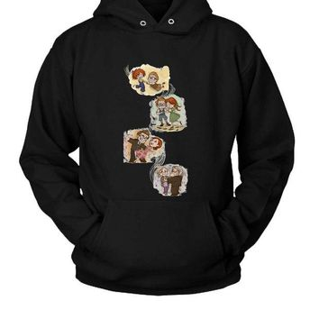 DCCKL83 Carl And Ellie Up Movie Hoodie Two Sided