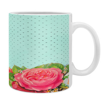 Allyson Johnson Favorite Floral Coffee Mug