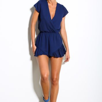 Lucky One Playsuit Navy