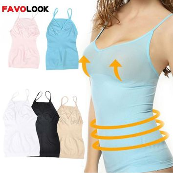 2018  Women Slimming Tank Top Tummy Control Seamless Vest Cami Shaper Body ShapeWear