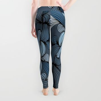 The Blues Leggings by DuckyB (Brandi)