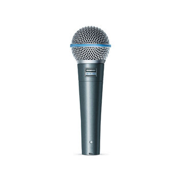 Shure Beta 58A Vocal Supercardioid Dynamic Microphone