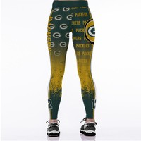Packers Print Leggings
