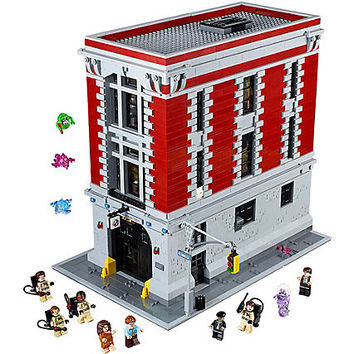 Firehouse Headquarters - 75827 | Ghostbusters™ | LEGO Shop