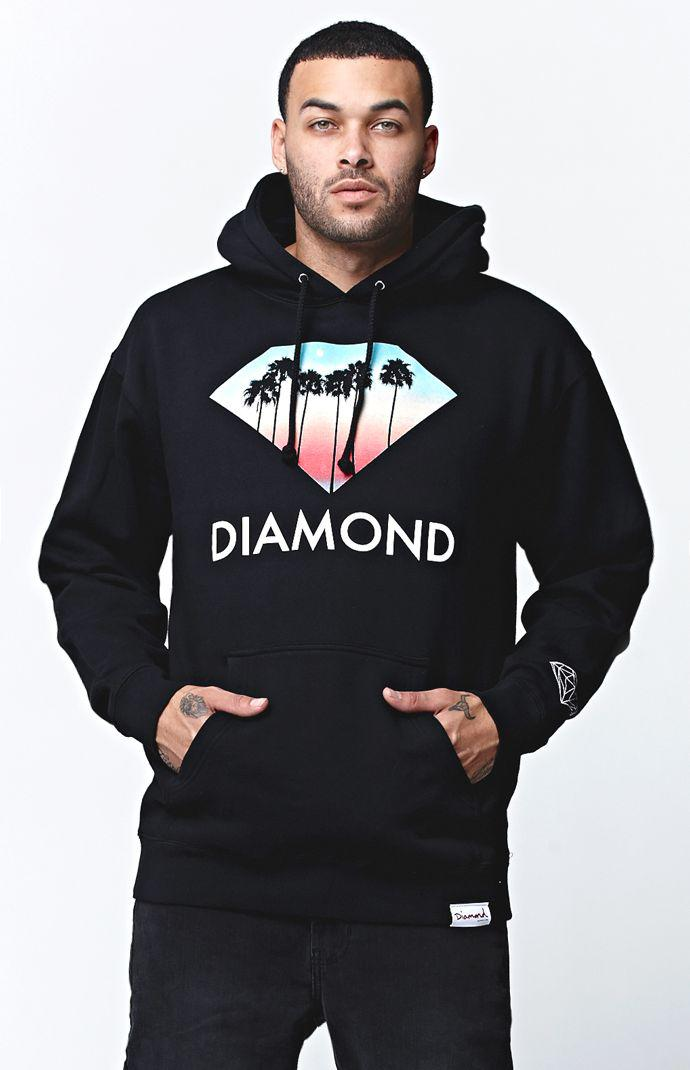 ... 407cc fb928 Diamond Supply Co Trees Pullover Hoodie - Mens Hoodie -  Black best prices ... 85bab4a2e722
