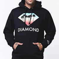 Diamond Supply Co Trees Pullover Hoodie - Mens Hoodie - Black