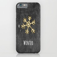 Winter iPhone & iPod Case by ALLY COXON | Society6