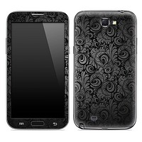 Black Paisley Skin for the Samsung Galaxy Note 1 or 2