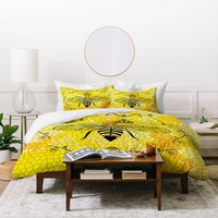 Lisa Argyropoulos Queen Bee Duvet Cover