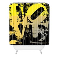 Amy Smith Philadelphia Love Shower Curtain