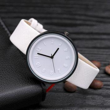 Women Candy Color Simple Fashion Watch
