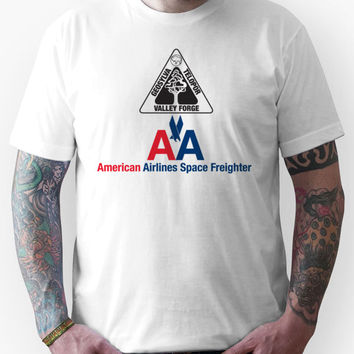 American Airlines Space Freighter Valley Forge Unisex T-Shirt