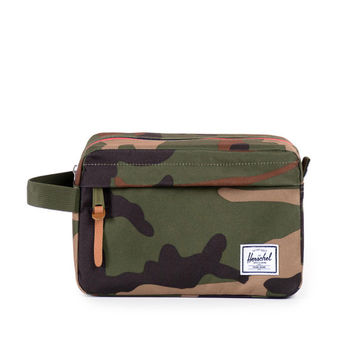 Herschel Supply Co. Chapter Dopp Kit Woodland Camo Dual Zip