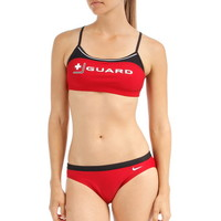 Nike Swim Lifeguard Sport Top 2pc at SwimOutlet.com