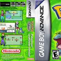 Pokemon LeafGreen Version - GameBoy Advance (Ugly Game Only)