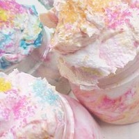 Pink Bubblegum Ice Cream-Whipped Cake Frosting Sugar Scrub nt.wt.12oz. of Luscious Lip Smacking Juicy Pink Bazooka Gum