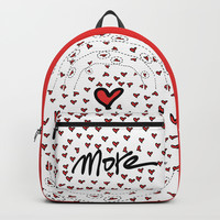 Love more Backpack by Cindys
