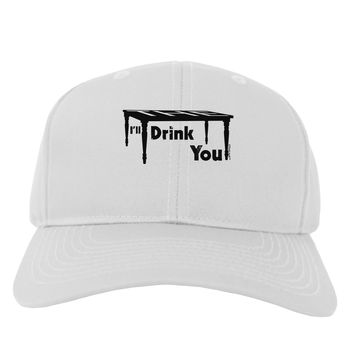 I'll Drink You Under the Table Adult Baseball Cap Hat