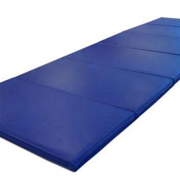 "4' x 12'x 2"" Intermediate Level Gymnastics Mat"