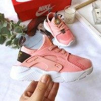 Nike Air Huarache Child Shoes White Pink Toddler Kids Shoes - Best Deal Online