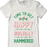 White T-Shirt | Funny Christmas Gift Shirts