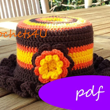 pattern crocheted cozy toiletpaper / pdf / crochet pattern