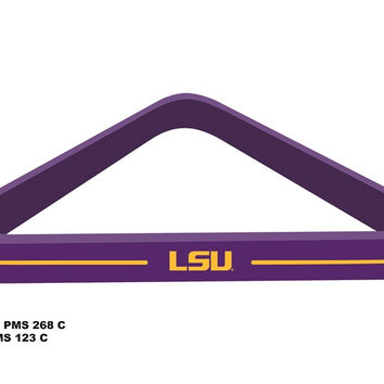 Louisiana State University Billiard Ball Triangle Rack