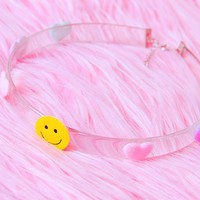 Smiley Hearts Choker