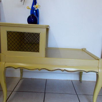Vintage Telephone Table - Long Side Table