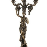 Lady In Toga Candelabrum