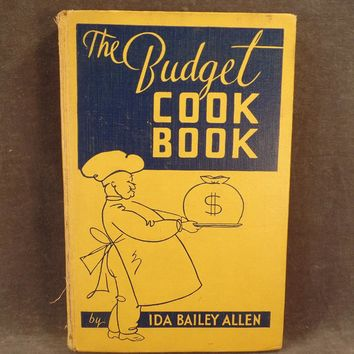Vintage Best Foods Budget Cook Book – 1935 – Old Recipe Book