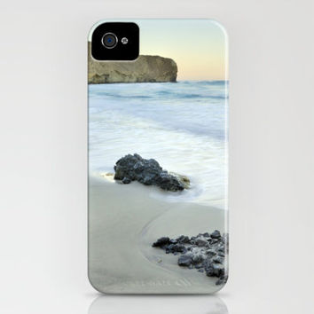 Black volcanic rocks iPhone Case by Guido Montañés | Society6
