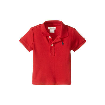 Ralph Lauren Baby Interlock Knit Polo Shirt (Infant) New Red - Zappos.com Free Shipping BOTH Ways