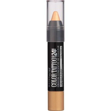 Maybelline Eye Studio ColorTattoo Concentrated Crayon, Gold Rush