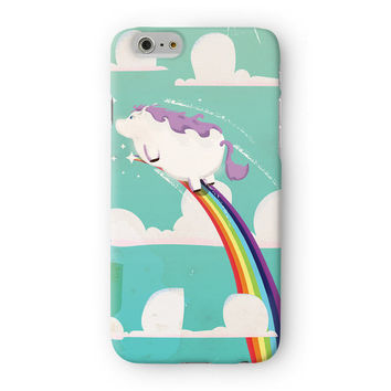 Flying Unicorn Full Wrap High Quality 3D Printed Case for Apple iPhone 6