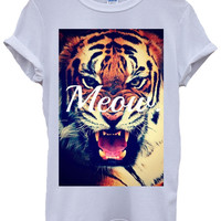 Tiger Face Tshirt