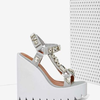 Jeffrey Campbell Loriel Embellished Wedge
