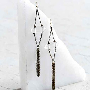 Constance Crystal Drop Earring
