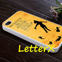 Disney Peter Pan Quote Vintage Case for iPhone 4/4S/5/5S/5C, Samsung Galaxy S3/S4, iPod touch 4/5, htc One x/x+/S