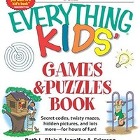 The Everything Kids' Games and Puzzles Book Everything ACT CSM