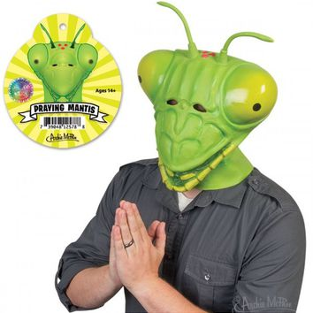 Praying Mantis Mask - Be The Bug