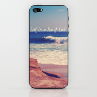 Sea of Love iPhone & iPod Skin by Josrick | Society6