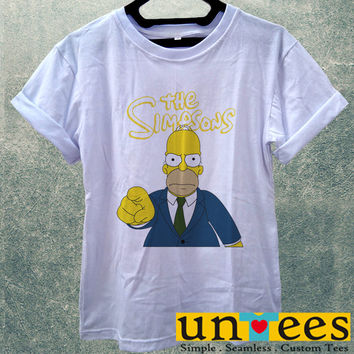 Low Price Women's Adult T-Shirt - The Simpsons Homer Simpson design